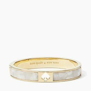 Authentic New Kate Spade Open Punch Bangle